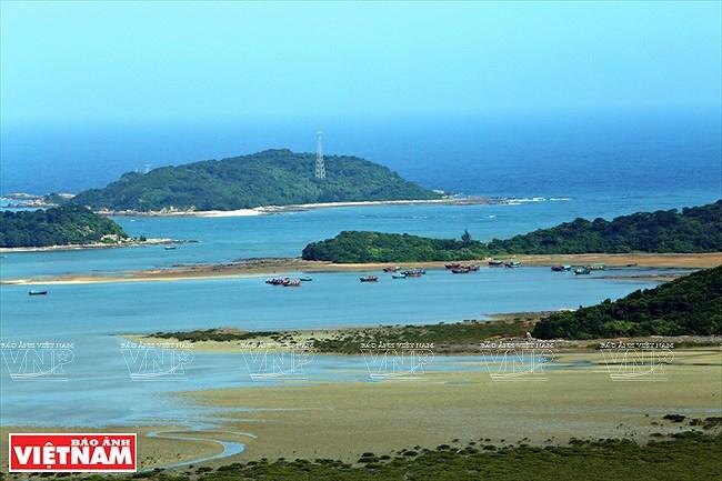 Mar y cielo de la isla vietnamita de Co To hinh anh 5