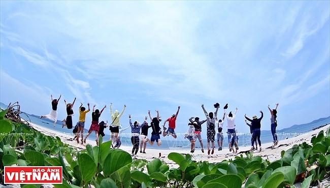 Mar y cielo de la isla vietnamita de Co To hinh anh 8