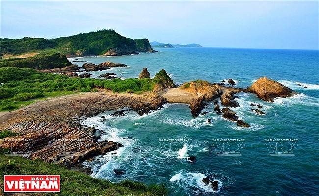Mar y cielo de la isla vietnamita de Co To hinh anh 1