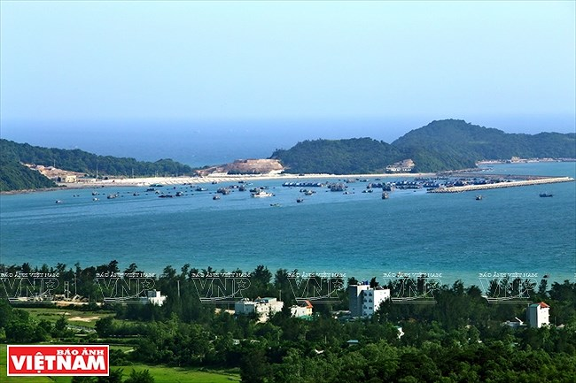 Mar y cielo de la isla vietnamita de Co To hinh anh 2