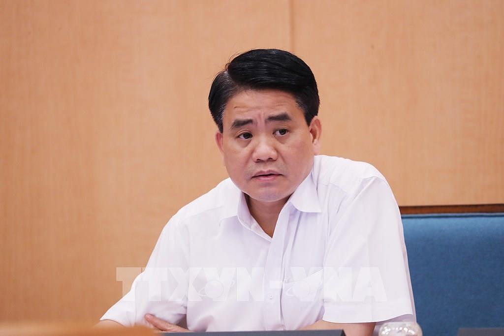 Le proces de l'ancien president du Comite populaire de Hanoi Nguyen Duc Chung prevu a huis clos hinh anh 1