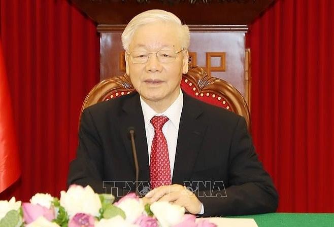 L'article du SG Nguyen Phu Trong sur le socialisme au Vietnam apprecie en Allemagne hinh anh 1