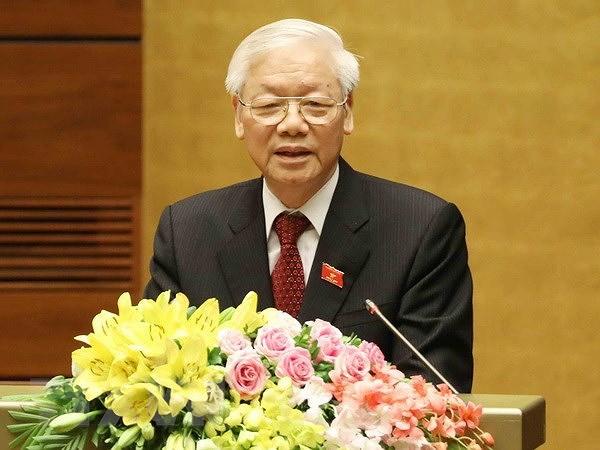 Felicitations de dirigeants de pays au secretaire general et president Nguyen Phu Trong hinh anh 1