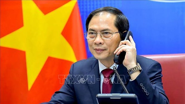 Vietnam-Chine : conversation telephonique entre Bui Thanh Son et Wang Yi hinh anh 1