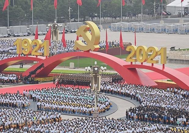 Felicitations pour le centenaire de la fondation du PCC hinh anh 1