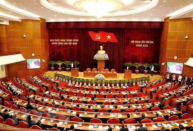 Cloture du 3e Plenum du Comite central du Parti communiste du Vietnam hinh anh 1