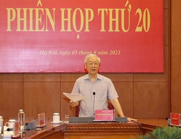 Reunion du Comite central de pilotage de la lutte contre la corruption hinh anh 2