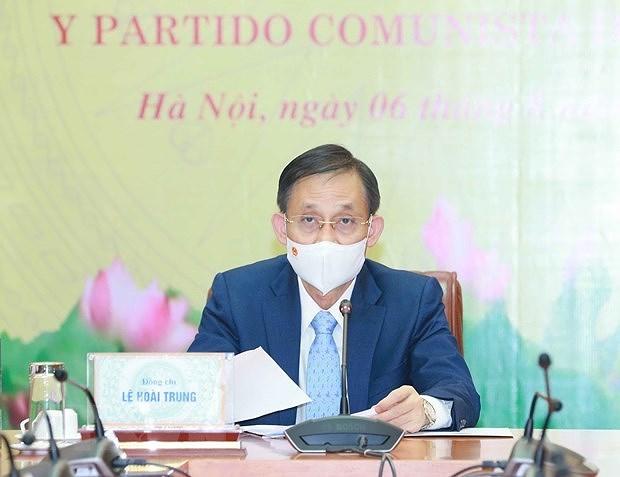 Renforcement des liens entre les Partis communistes du Vietnam et du Chili hinh anh 1