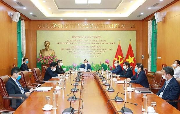Renforcement des liens entre les Partis communistes du Vietnam et du Chili hinh anh 2