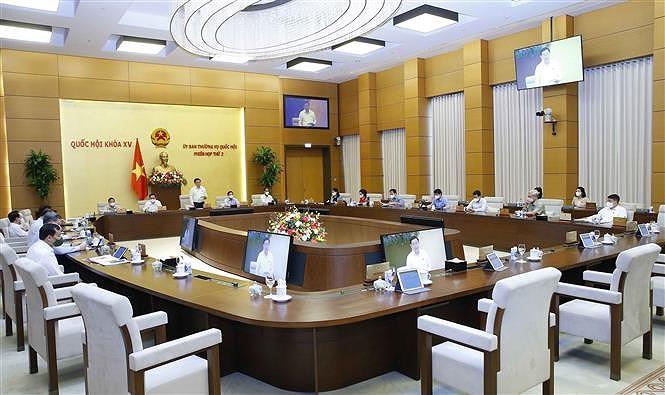 Cloture de la 2e reunion du Comite permanent de l'Assemblee nationale hinh anh 3