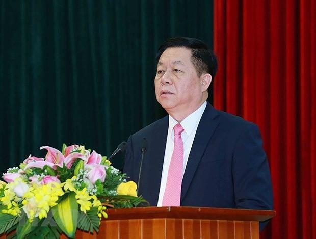 Le nouveau president de la Commission centrale de la sensibilisation et de l'education du Parti hinh anh 1