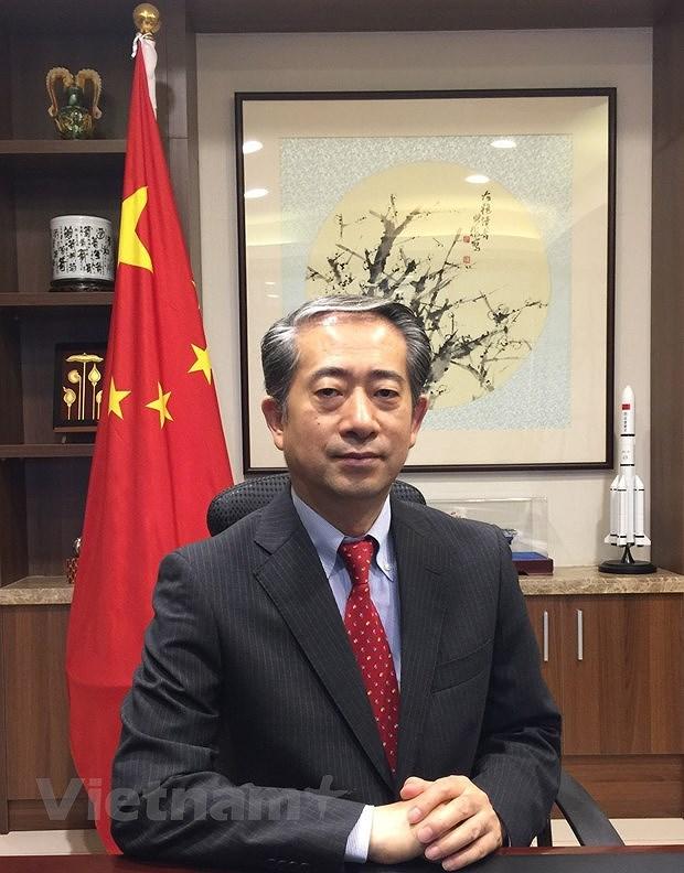 Interview de l'ambassadeur chinois au Vietnam sur les relations entre les deux Partis communistes hinh anh 2