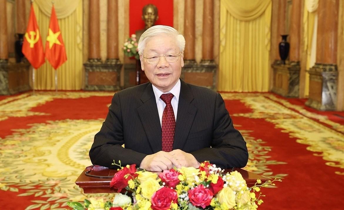 L'article du SG Nguyen Phu Trong souligne le role de l'Etat dans la garantie de l'equite sociale hinh anh 1