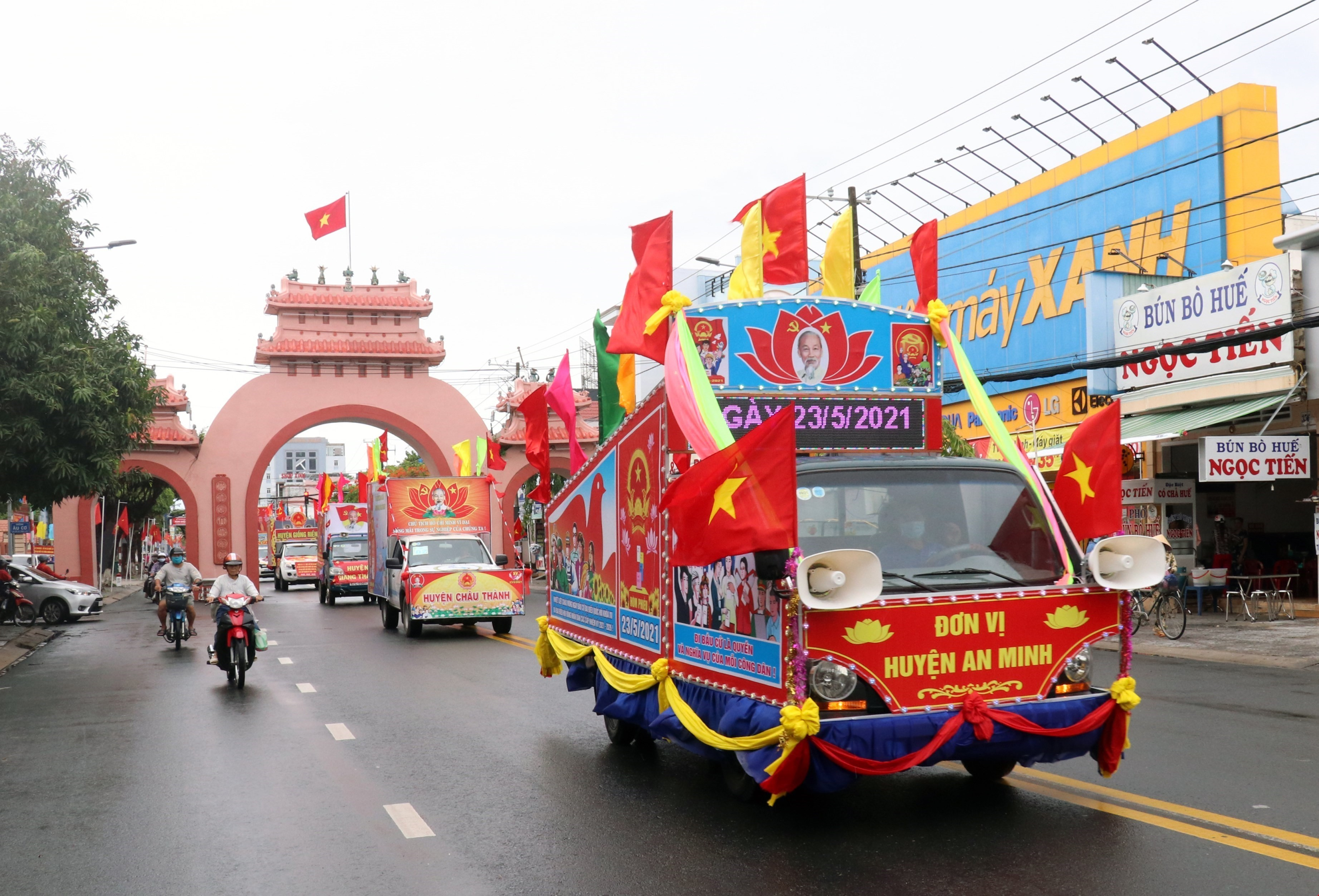 Вьетнам готов к всеобщим выборам hinh anh 7