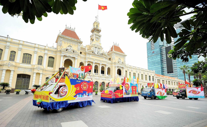Вьетнам готов к всеобщим выборам hinh anh 11