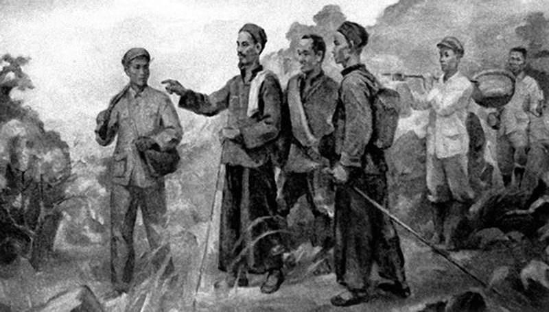 Празднование 110-летия отъезда Дяди Хо из Вьетнама ради поиска спасения страны (5 июня 1911 г. - 5 июня 2021 г.) hinh anh 7