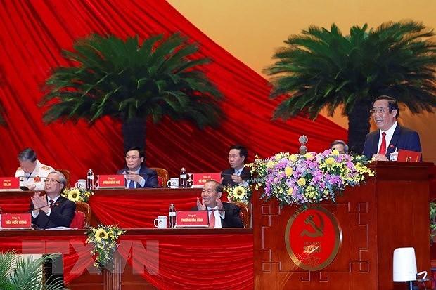 XIII съезд КПВ: объявление результатов выборов в ЦК Партии XIII созыва hinh anh 1